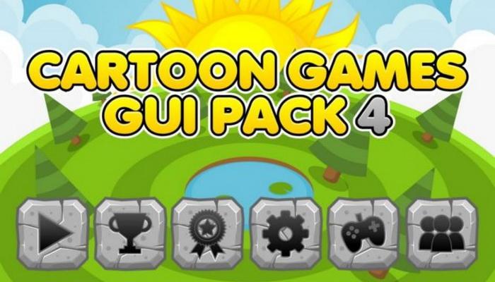 Cartoon Games GUI Pack 4