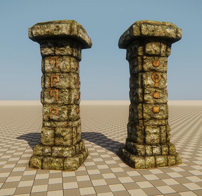 Maya Pillar