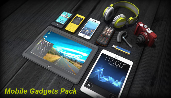 Mobile Gadgets Pack