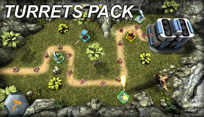 Turrets Pack