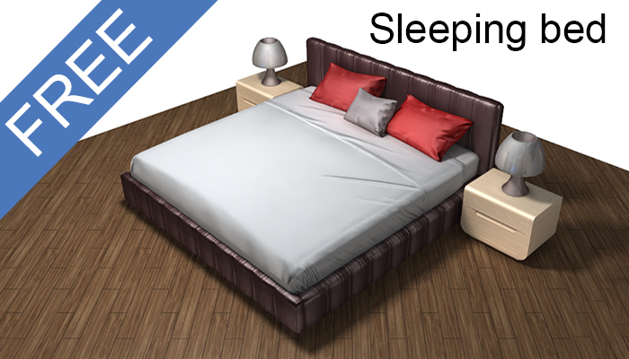 Sleeping bed