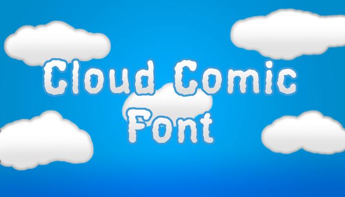 Cloud Comic Font