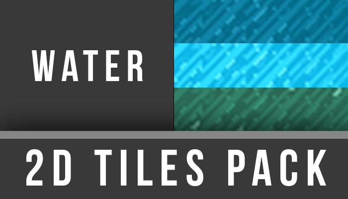 2D TilesPack – Water