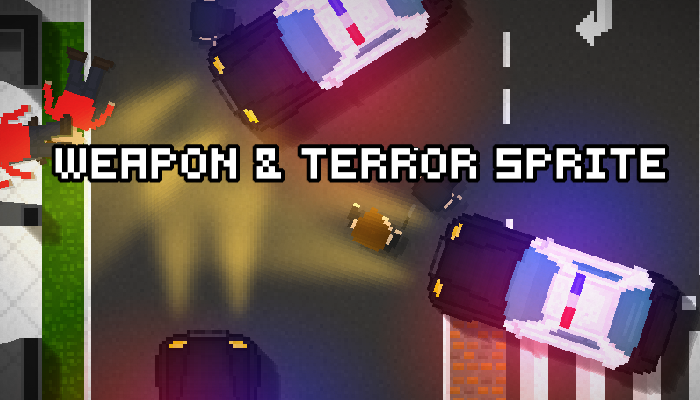 Weapon and Terror Sprite Pack