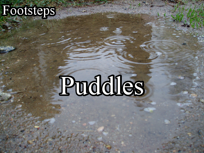 Footsteps – Puddles