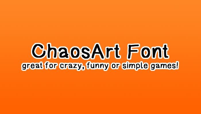 ChaosArt Font