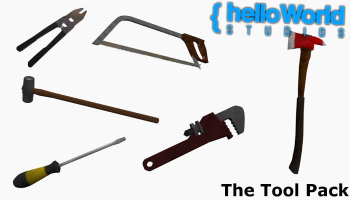 Tool-Melee Weapons Model Pack