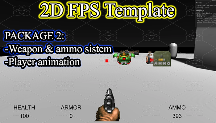 Classic FPS Template Package 2: Shooting System.