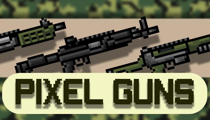 PIXEL GUNS PACK