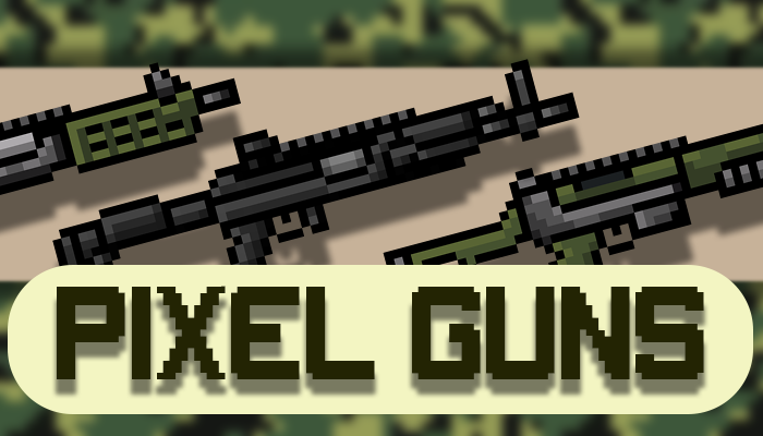 PIXEL GUNS PACK