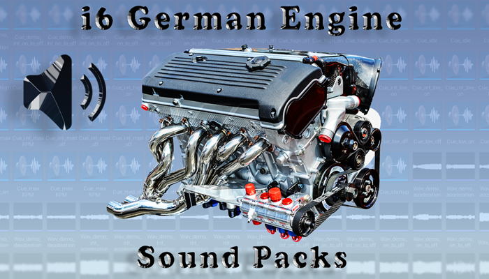 i6 German Engine Sound Packs