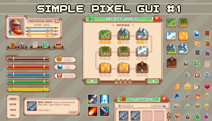 Simple Pixel Gui #1