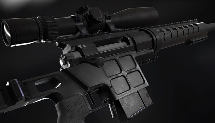 DVL-10 M2 URBANA and March Tactical 3-24×42 FFP
