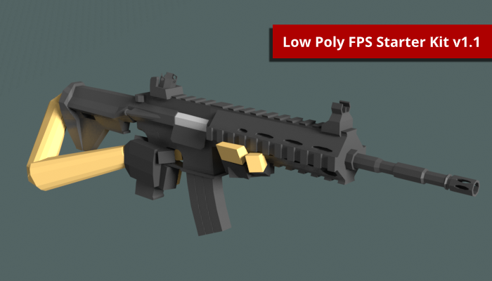 Low Poly FPS Starter Kit