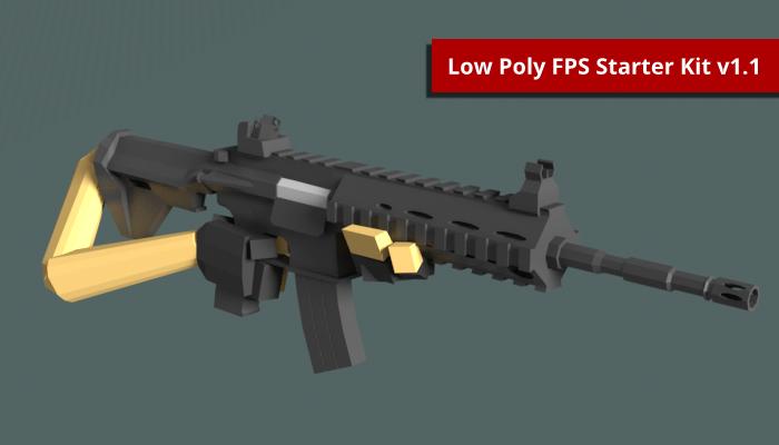 Low Poly FPS Starter Kit