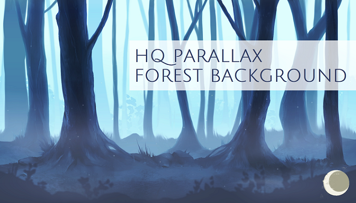 Parallax Forest Background (Seamless)
