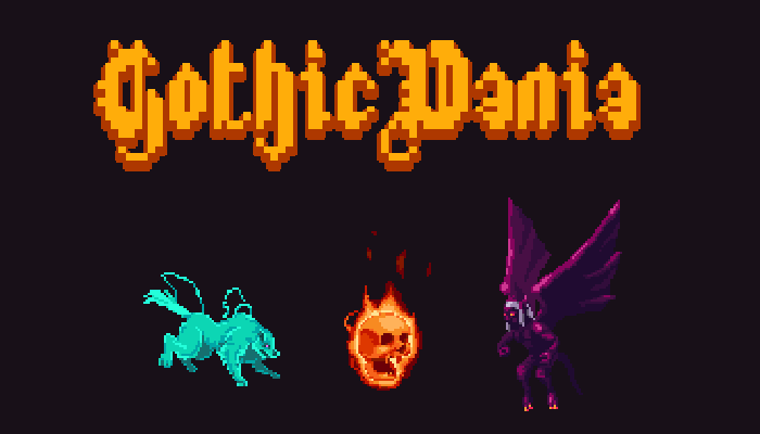 GothicVania Enemies Pack 4