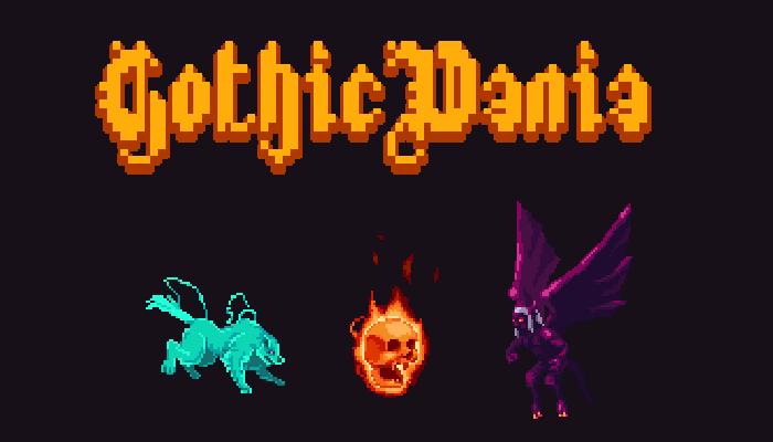 GothicVania Enemies Pack 4