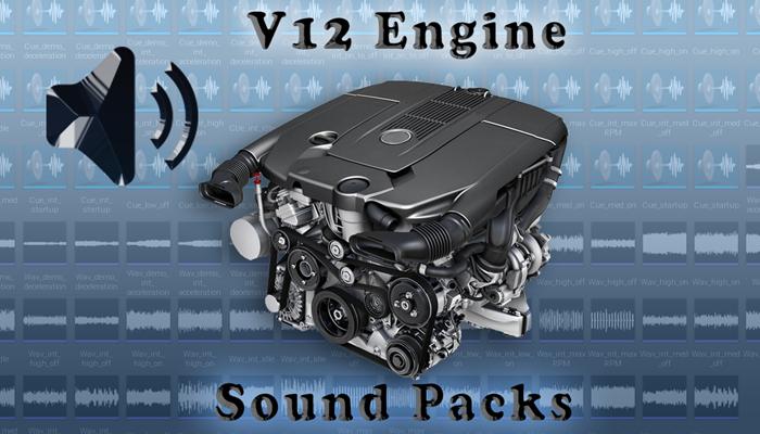 V12 Engine Sound Packs