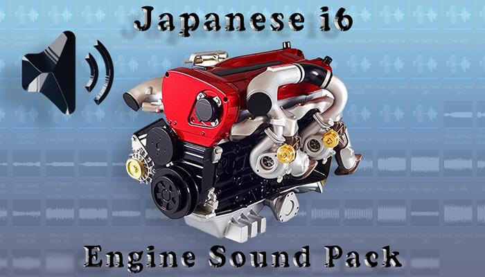 i6 Japanese – Engine Sound Packs