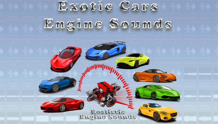 Exotic Cars Engine Sounds