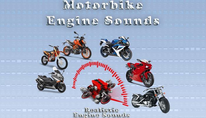 Motorbike Engine Sounds – Vol.2.