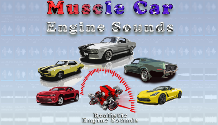Muscle Car Engine Sounds