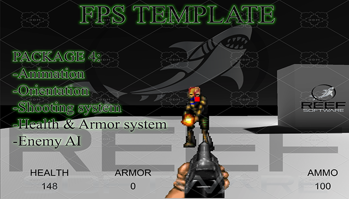 Classic FPS Template Package 4: Full Gameplay