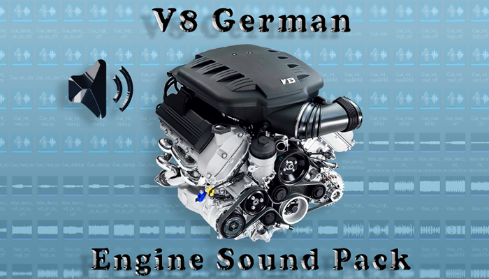 V8 German Engine Sound Packs