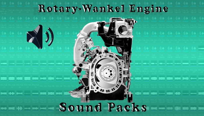Rotary-Wankel Engine Sound Packs
