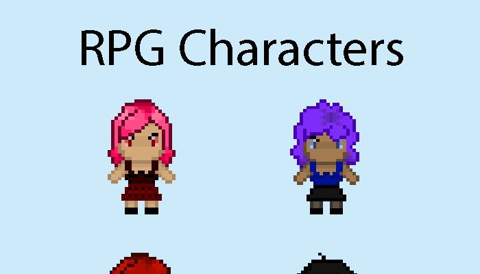 RPG Game Characters