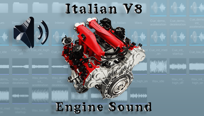V8 Italian – Engine Sound Pack