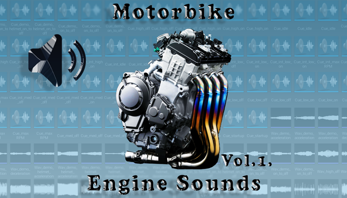 Motorbike Engine Sounds Vol.1.