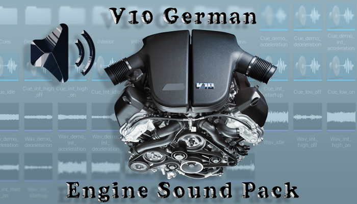 V10 German – Engine Sound Pack