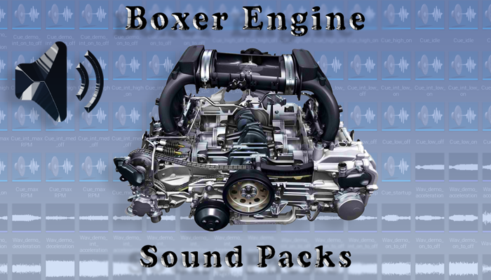 Boxer Engine Sound Packs