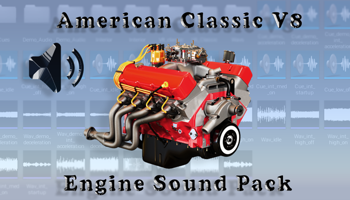 V8 American Classic – Engine Sound Pack
