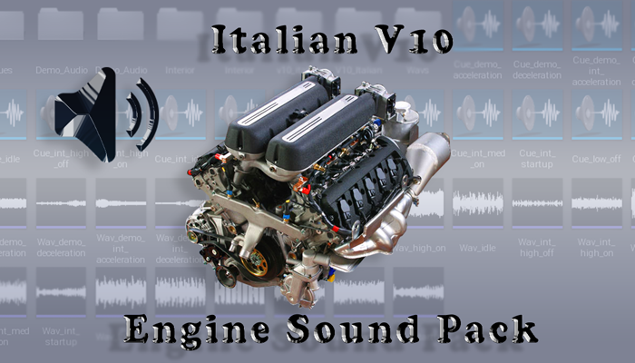 V10 Italian – Engine Sound Pack