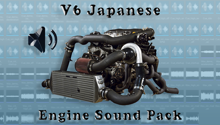 V6 Japanese Engine Sound Packs