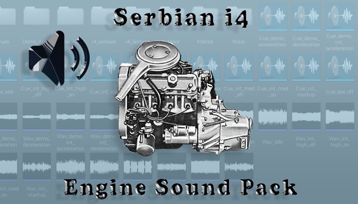 i4 Serbian – Engine Sound Pack