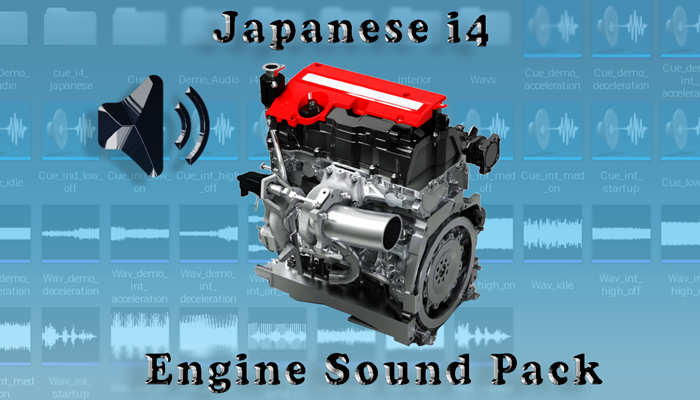 i4 Japanese – Engine Sound Pack