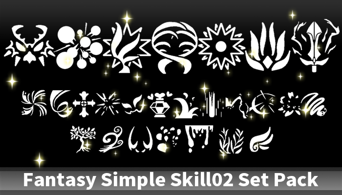 Fantasy Simple Skill02 Set Pack