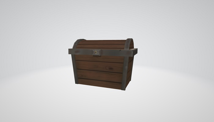 Old Rusty Chest