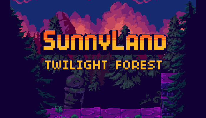 SunnyLand Twilight Forest
