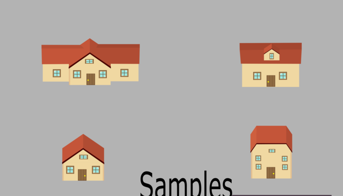Vector Editable Houses, Mansions and Buildings