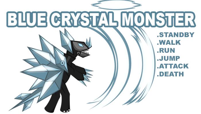 Blue Crystal Monster