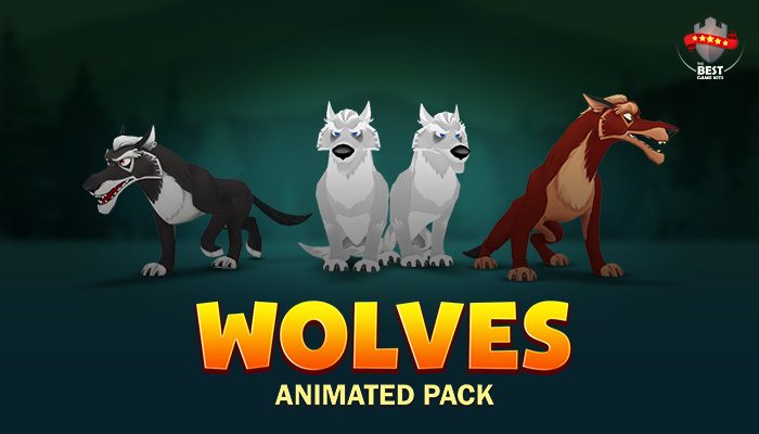 Wolves animated pack