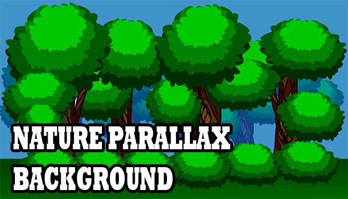 Nature parallax background