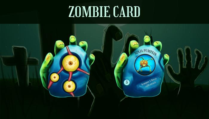 TCG Zombie Card