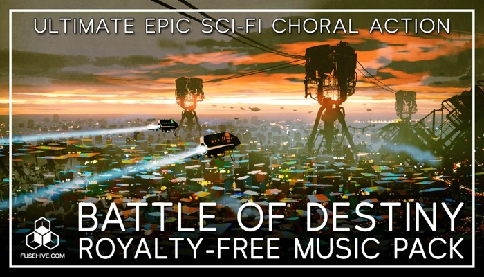 """EPIC MUSIC """"Battle of Destiny"""" – Ultimate Inspiring Orchestral Royalty-Free Action Music Soundtrack"""