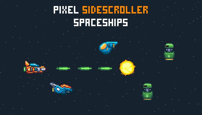Pixel SideScroller Spaceships